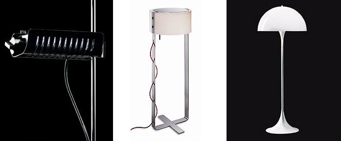 Staande lamp design italiaans